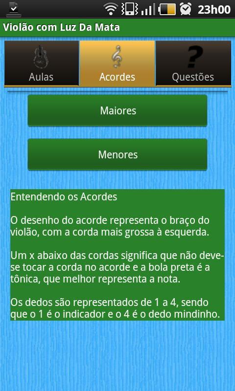 Violão com Luz Da Mata Grátis- screenshot