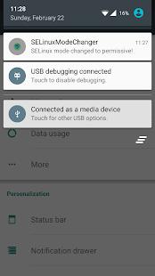 SELinux Mode Changer - screenshot thumbnail
