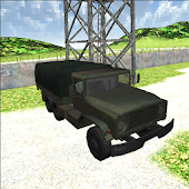 Green Military Convoy Truck