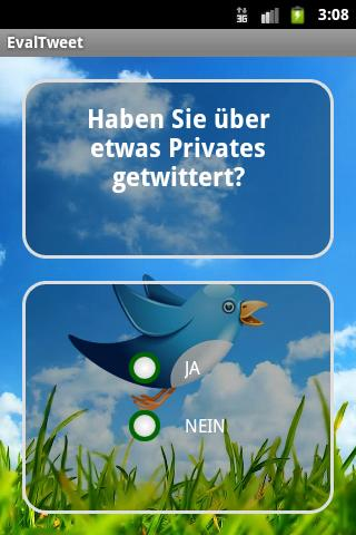 EvalTweet- screenshot
