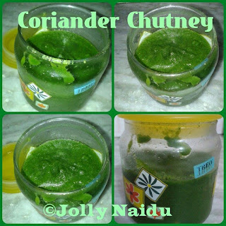 Coriander Chutney   Dhaniya ki Chutney