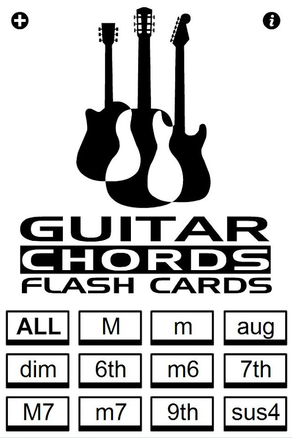 Guitar Chords Flash Cards Android Apps On Google Play