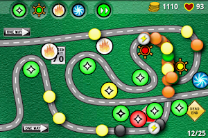 Screenshot of Bubble Defense