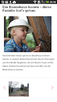 Screenshot of ELTERN online
