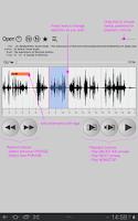 Screenshot of Repeat player WorkAudioBook