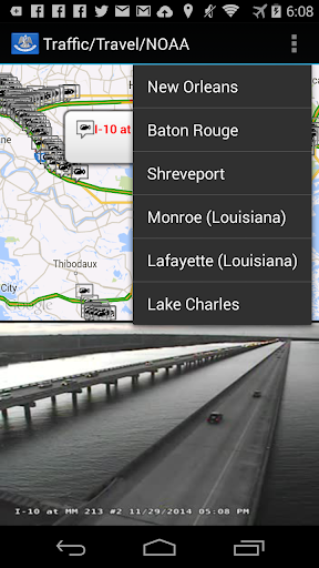 Louisiana Traffic Map.Louisiana Traffic Cameras Apps On Google Play
