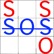 SOS Game - Classic Strategy Board Games