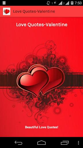 Love Quotes-Valentine