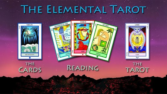 The Elemental Tarot- screenshot thumbnail