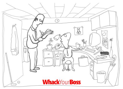 Игра Whack Your Boss для планшетов на Android