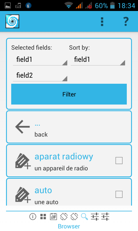 PeterMemo Flashcards- screenshot