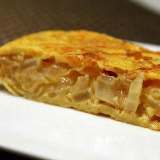 Spanish Onion Omelet.