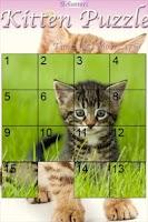 Screenshot of Kitten Slider Puzzle