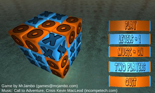 XO Cubical 3D Game