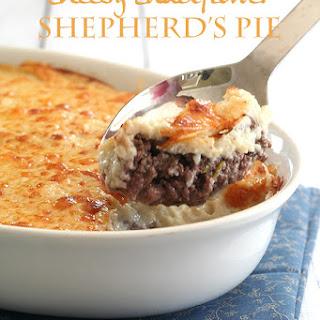 Cheesy Cauliflower Shepherd's Pie