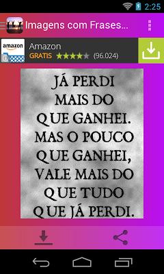 Imagens com Frases da Vida - screenshot