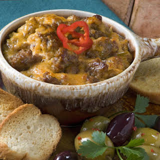 Italian Sausage And Cheese Dip.