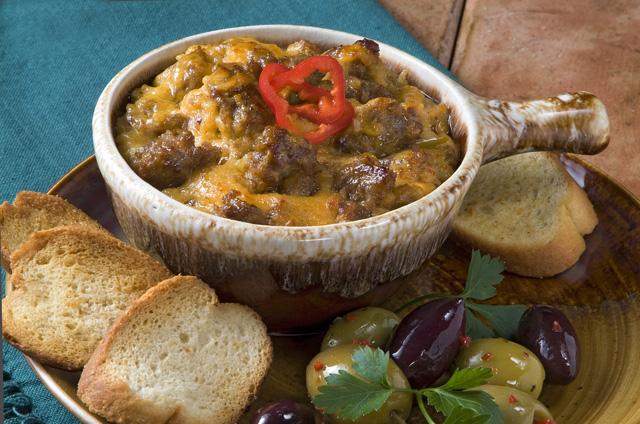 Italian Sausage and Cheese Dip Recipe