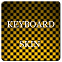 Orange Carbon Keyboard Skin icon