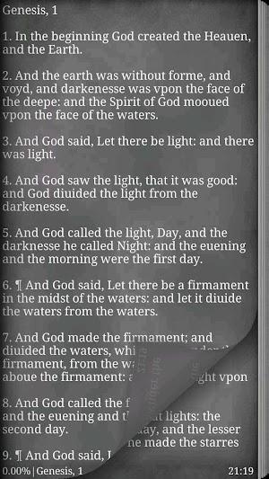 3 1611 King James Bible App screenshot