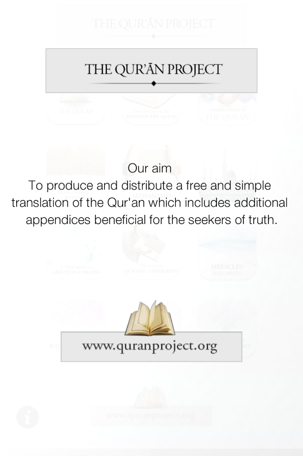 Quran Project - screenshot