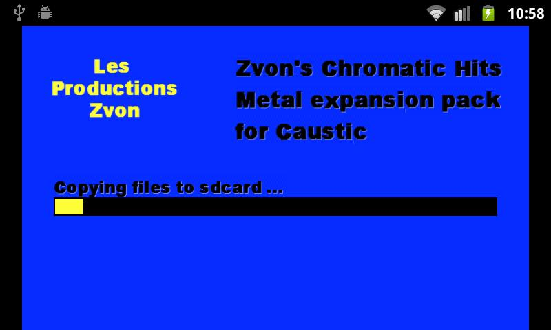 Chromatic Hits 2 - Metal - screenshot