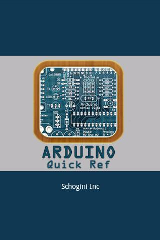Arduino Quick Ref - screenshot