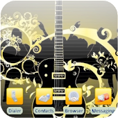 Fancy Guitar [SQTheme] for ADW