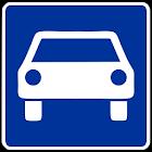 Autokennzeichen icon