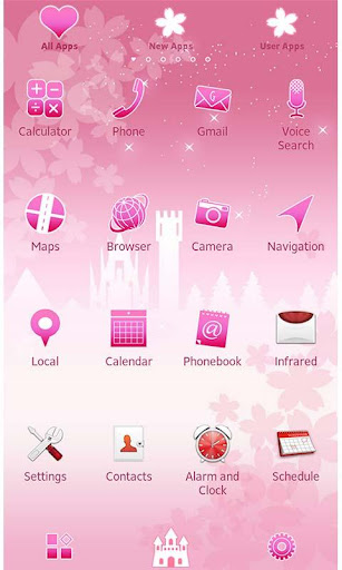 Pink Theme Romantic Fantasy 1.0 Windows u7528 2