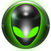 poweramp skin alien green