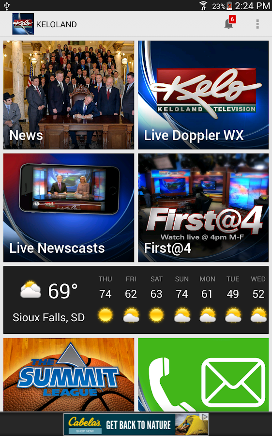 KELOLAND News/Weather/Sports- screenshot