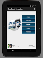 Screenshot of SaraBanda Revolution
