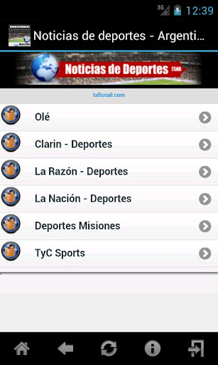 Noticias de Deportes Argentina