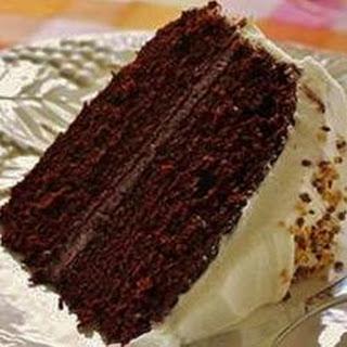 Fabulous Fudge Chocolate Cake.