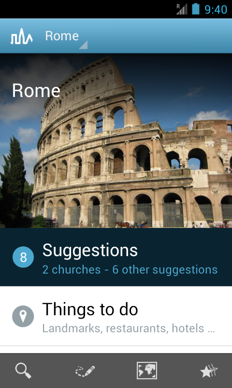 Rome Travel Guide by Triposo - screenshot
