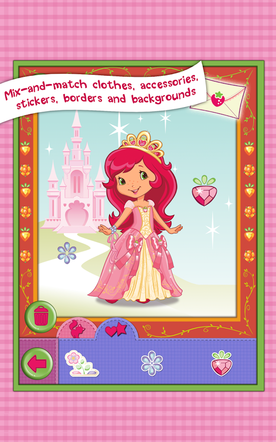 Strawberry Shortcake Dress Up- screenshot