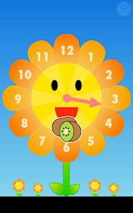 Sunflower clock- screenshot thumbnail