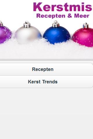 Kerstmis Recepten Meer