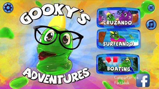 Gooky's Adventures. The Alien