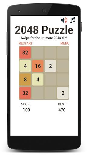 2048 Swipe Puzzle