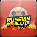 Russian Roulette,Tijger editie logo