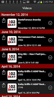102TheBeatFM- screenshot thumbnail