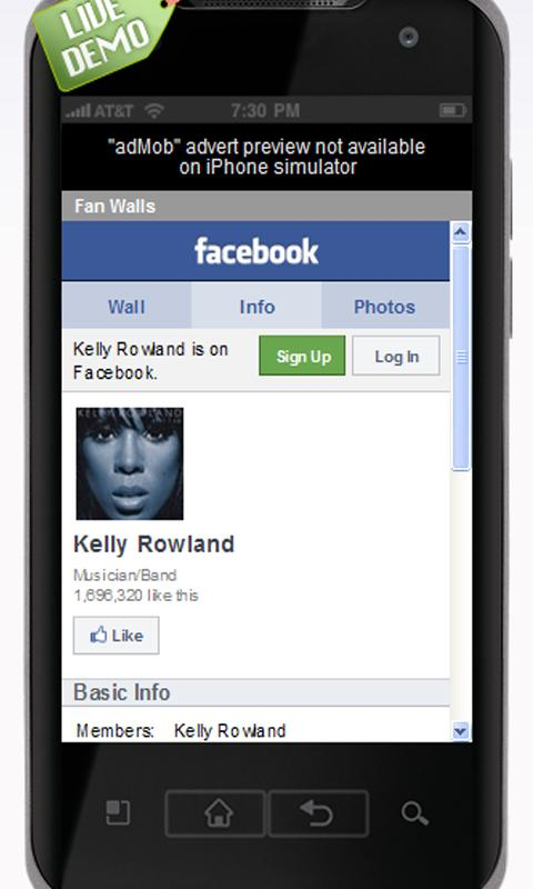 Kelly Rowland Music and Videos - screenshot
