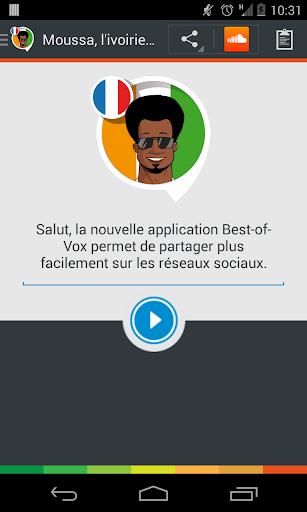 Moussa the Ivorian voice Fr