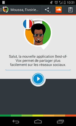 android Voix Moussa,  l'ivoirien (fra.) Screenshot 4