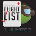 Flight List Plus Unlimited icon