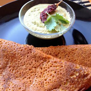 Pumpkin Quinoa Paratha (flatbread)