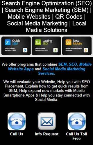 SEO SEM Local Media Solutions- screenshot