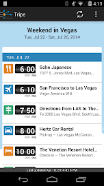 TripIt: Trip Planner Screenshot 3